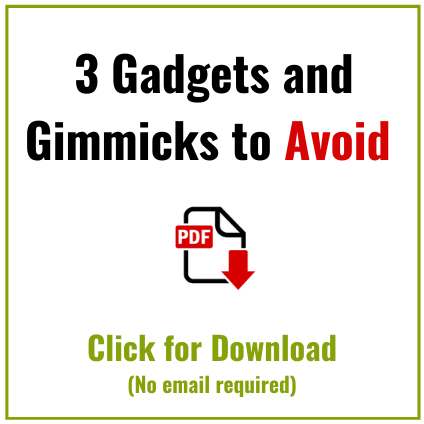 back pain gimmicks to avoid